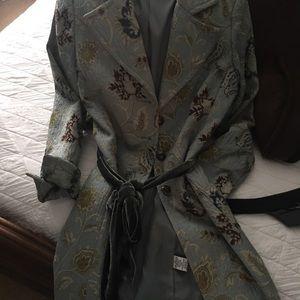 CAbi tapestry coat